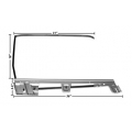 1967-68 DOOR WINDOW FRAME KIT FASTBACK LH