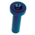 1964 1/2 Door Latch Knob (Blue)