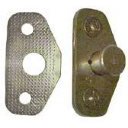 1967-70 Door Latch Striker Plate