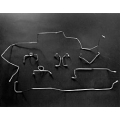 1968-69 PRE-FORMED BRAKE LINE KITS POWER DRUM V8 28 SPLINE