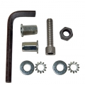 1964-70 POWER STEERING FRAME RAIL NUT INSTALLATION KIT