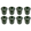 "1966-73 MUSTANG REAR LEAF SPRING SHACKLE RUBBER BUSHING SET - 8 PC. 1/2"" DIAM"