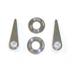 1968-69 Seat Latch Handle and Bezel Kit