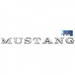 "1965-72 ""Mustang"" Letters"