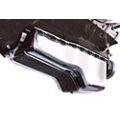 1964-73 POLISHED CHROME FINNED ALUMINUM OIL PAN, FOR 289 & 302