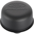 1964-73 BREATHER CAP, SATIN BLACK, PUSH IN STYLE