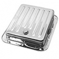 1965-73 CHROME AUTOMATIC TRANSMISSION OIL PANS - C4