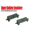 1967 RADIATOR MOUNTING BRACKET RUBBER INSULATORS - UPPER, PAIR, 2 ROW