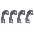 1965-66 FAN SHROUD MOUNTING BRACKETS - SET OF 4, V8, 2-ROW