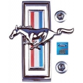 1970 Mustang Grille Horse Medallion