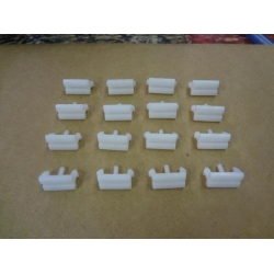1973 Grille Molding Clips (16 per grille)