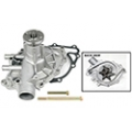 1964-65 REPLACEMENT WATER PUMP,  ALUMINUM,  V8, 260/289