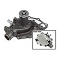 1965-69 REPLACEMENT WATER PUMP, CAST IRON,  260/289/302/351W