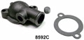 1965-73 THERMOSTAT HOUSING, REPLACEMENT STYLE,  SMALL BLOCK , 8 CYL