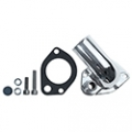 1965-73 CHROME PLATED THERMOSTAT HOUSINGS (WATER NECK) - 260,289,302, 351W- gasket style