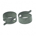 "1968-73 FUEL HOSE CLAMP - FITS 5/16"" AND 3/8"", PAIR"