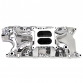 1965-73 EDELBROCK MUSTANG RPM AIR GAP MANIFOLD - POLISHED FINISH