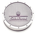 "1965-73 EDELBROCK 14"" ALUMINUM AIR CLEANER - Fits 5-1/8"" diameter carburetors."
