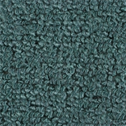 1965-68 Mustang Convertible 80/20 Kick Panel Carpet, (Aqua)