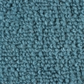 1965-70 Mustang Fastback Nylon Fold Down Carpet (Aqua)
