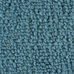 1965-68 Mustang Convertible Nylon Kick Panel Carpet (Aqua)