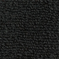 1965-68 Mustang Convertible Nylon Kick Panel Carpet (Black)