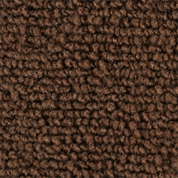 1971-73 Mustang Coupe Nylon Complete Trunk Carpet Kit (Brown)