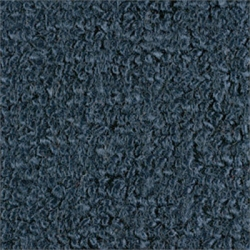 1965-68 Mustang Convertible 80/20 Kick Panel Carpet, (Dark Blue)
