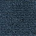 1965-70 Mustang Fastback Nylon Fold Down Carpet (Dark Blue)