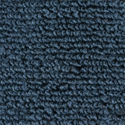 1971-73 Mustang Coupe Nylon Complete Trunk Carpet Kit (Dark Blue)
