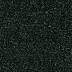 1965-68 Mustang Convertible 80/20 Kick Panel Carpet, (Dark Green)