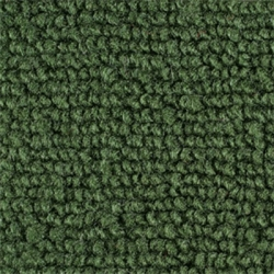 1965-66 Mustang Coupe Nylon Complete Trunk Carpet Kit (Dark Green)