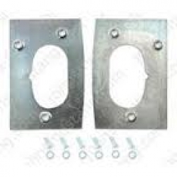 1967-68 Door Latch Repair Plate