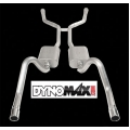 1967-70 DYNOMAX STAINLESS STEEL HEADER BACK DUAL EXHAUST KIT