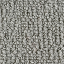 1965-70 Mustang Fastback Nylon Fold Down Carpet (Gray)