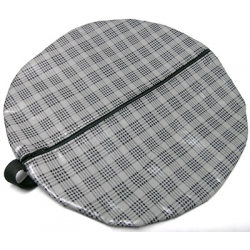 1964-73 PLAID BATTERY BOOSTER CABLE STORAGE BAG