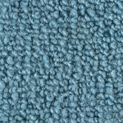 1965-70 Mustang Fastback Nylon Fold Down Carpet (Light Blue)