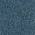 1965-68 Mustang Convertible 80/20 Kick Panel Carpet, (Medium Blue)