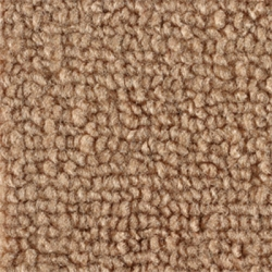 1965-70 Mustang Fastback Nylon Fold Down Carpet (Medium Saddle)