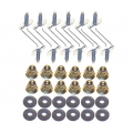 1970-73 Honeycomb Panel Molding Fastener Kit