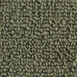 1965-68 Mustang Convertible Nylon Kick Panel Carpet (Moss Green)