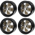 "1966 RALLY WHEEL 14""X 5"" COMPLETE WHEEL KIT"