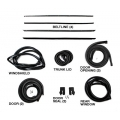 1965-66 FASTBACK WEATHERSTRIP KIT