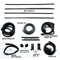 1969-70 SPORTSROOF (FASTBACK) WEATHERSTRIP KIT