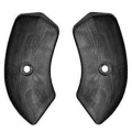 1964-67 Seat Hinge Covers Black