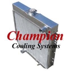 64-66 Champion All Aluminum Radiator