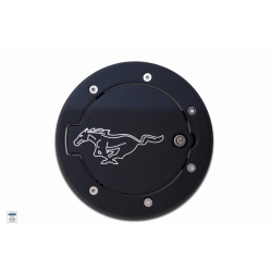 2010+ Fuel Door 2 TONE 'PONY' ENGRAVED