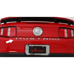 2010-13 Mustang Trunk Letters CHROME