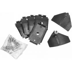 1965-66Rocker Panel Molding Clips RH/LH