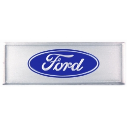 """1967-73Door Sill Decal, """"Ford"""", Blue"""